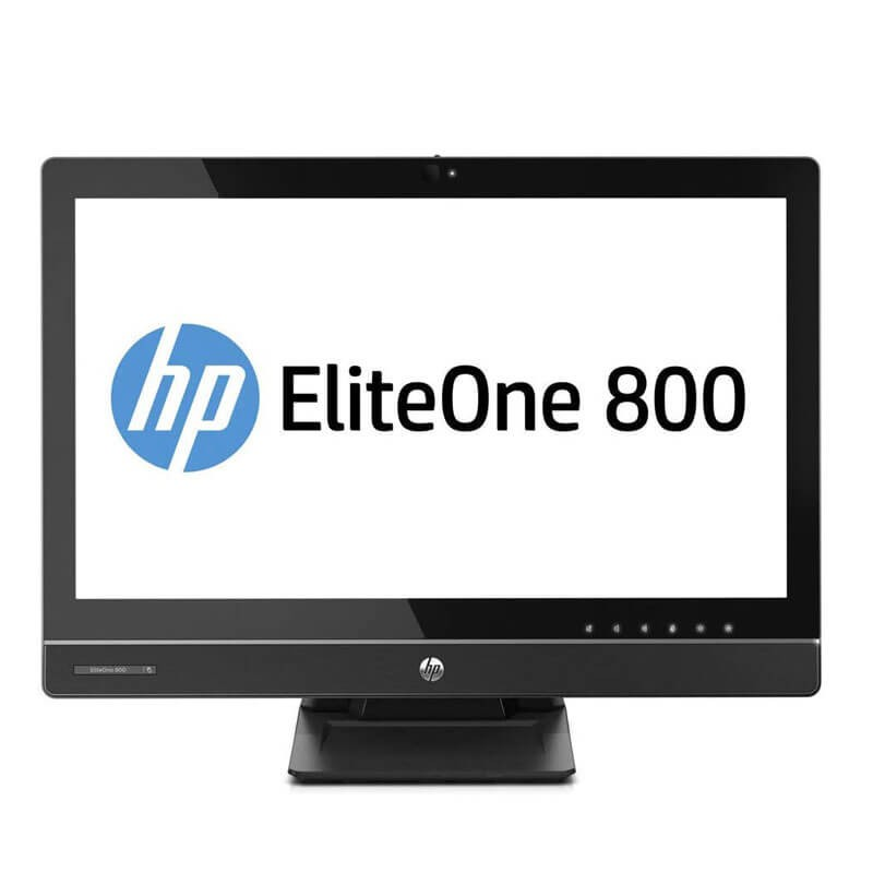 All-in-One second hand HP EliteOne 800 G1, Quad Core i5-4570S, 23 inch Full HD IPS, Webcam