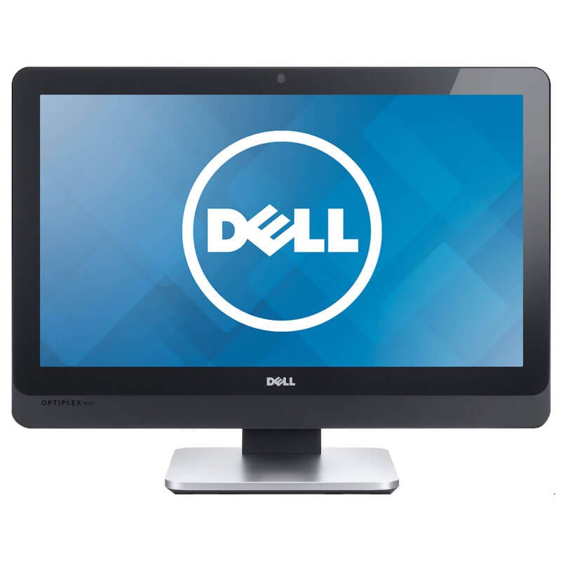 All-in-One Touchscreen second hand Dell OptiPlex 9010, Quad Core i7-3770S, 256GB SSD, Full HD