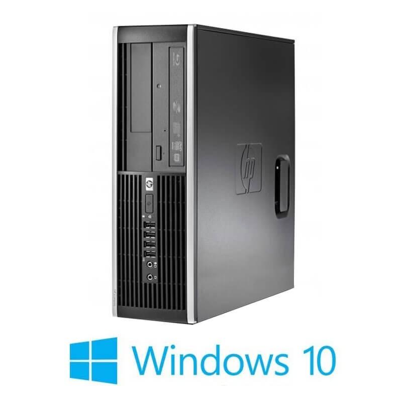 Calculatoare Refurbished HP Compaq 8000 Elite SFF, Core 2 Duo E8500, Win 10 Home