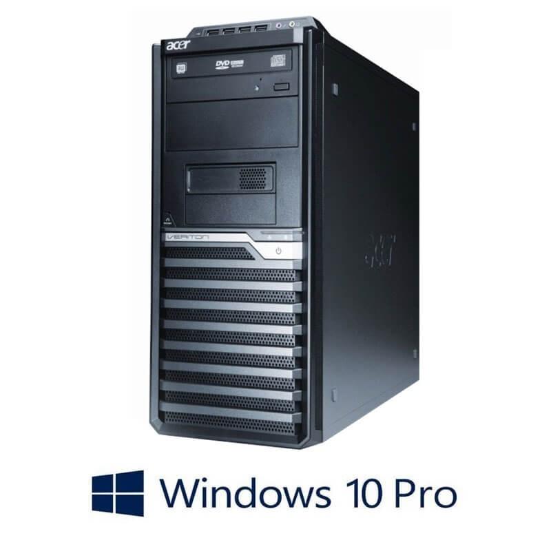 Calculator Acer Veriton M290 MT, Quad Core i7-2600, 180GB SSD, Windows 10 Pro