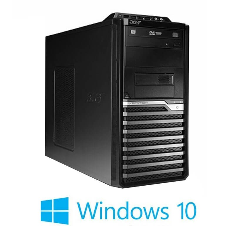 Calculator Acer Veriton M490G MT, Intel i3-550, AMD Radeon HD7350, Win 10 Home