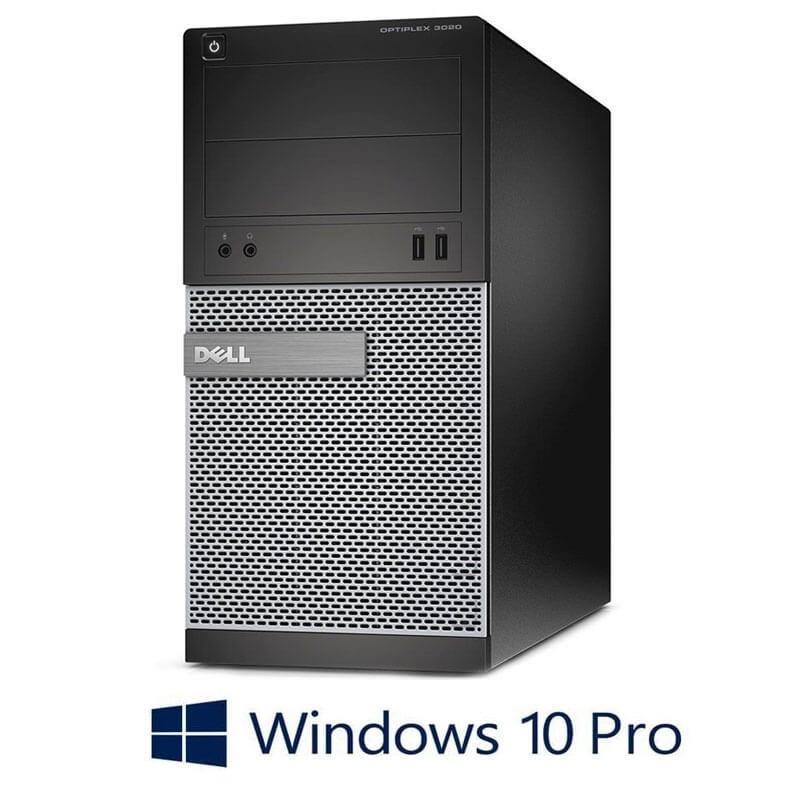 Calculator Dell OptiPlex 3020 MT, Intel i3-4150, 240GB SSD NOU, Windows 10 Pro