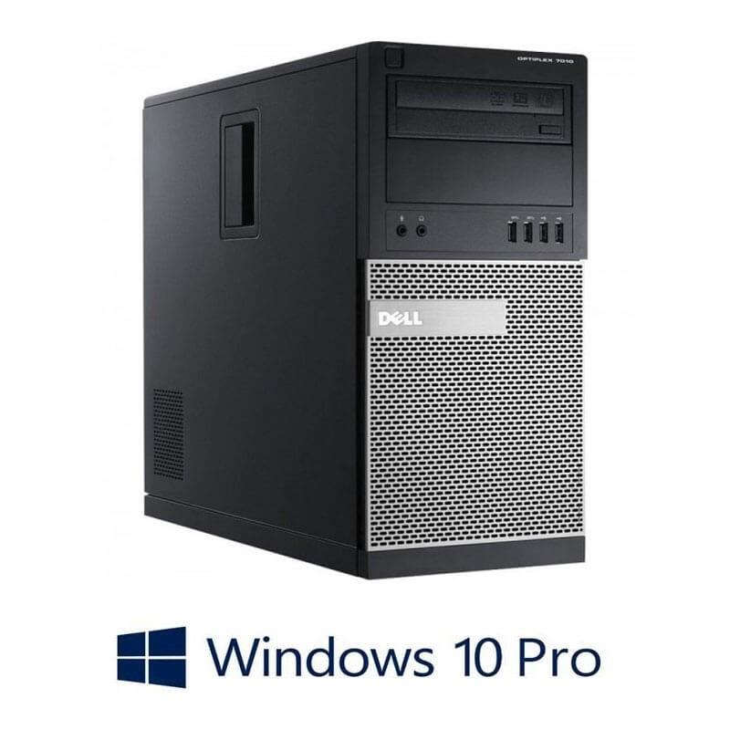 Calculator Dell OptiPlex 7010 MT, Quad Core i5-3470, 120GB SSD, Windows 10 Pro