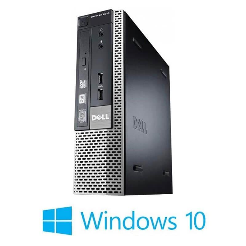 Calculator Dell OptiPlex 9010 USFF, Quad Core i5-3475S, 128GB SSD, Win 10 Home