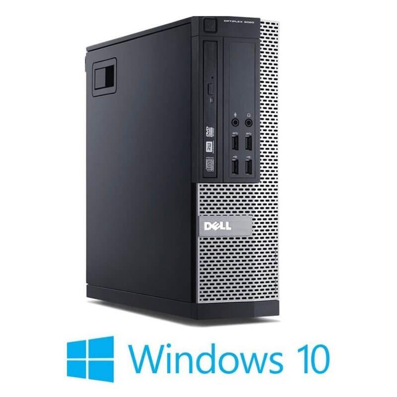 Calculator Dell OptiPlex 9020 SFF, Intel i3-4150, 120GB SSD NOU, Windows 10 Home