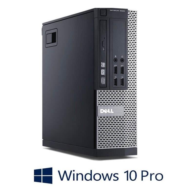 Calculator Dell OptiPlex 9020 SFF, Intel i3-4150, 120GB SSD NOU, Windows 10 Pro