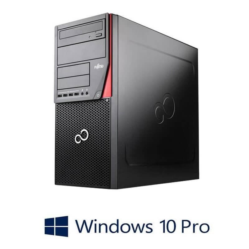 Calculator Fujitsu ESPRIMO P720, Quad Core i5-4590T, Radeon HD 7350, Win 10 Pro