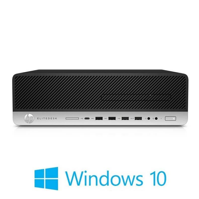 Calculator HP EliteDesk 800 G3, Quad Core i7-7700, 8GB, 256GB SSD, Win 10 Home