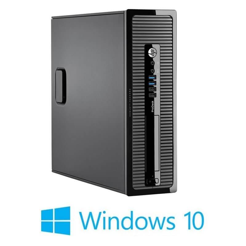 Calculator HP ProDesk 400 G1 SFF, Intel Core i3-4130, 120GB SSD, Win 10 Home