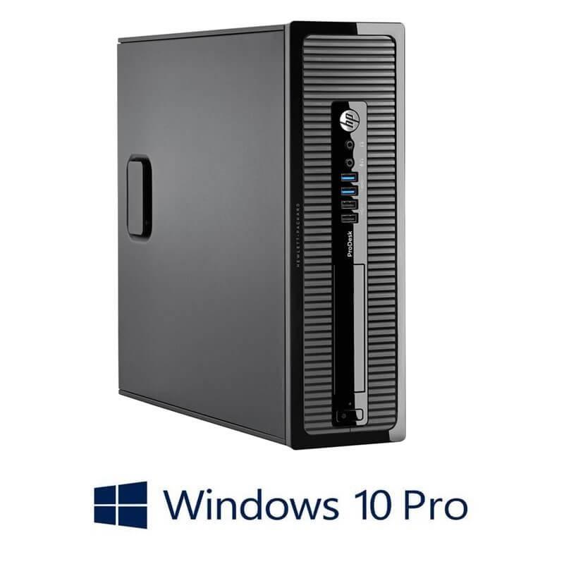 Calculator HP ProDesk 400 G1 SFF, Intel Core i3-4130, 120GB SSD, Win 10 Pro