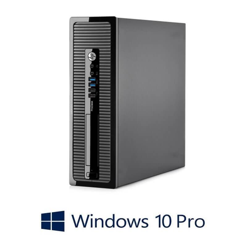 Calculator HP ProDesk 400 G1 SFF, Intel i3-4130, 240GB SSD NOU, Win 10 Pro