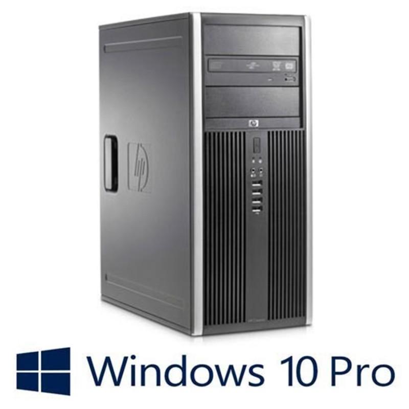 Calculator Refurbished HP Compaq 8000 Elite MT, Intel Core 2 Quad Q9500, Win 10 Pro