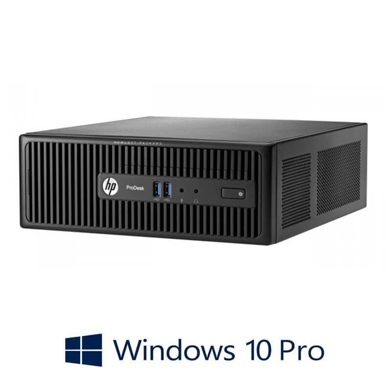 Calculator Refurbished HP ProDesk 400 G2.5 SFF, Quad Core i5-4570S, Win 10 Pro