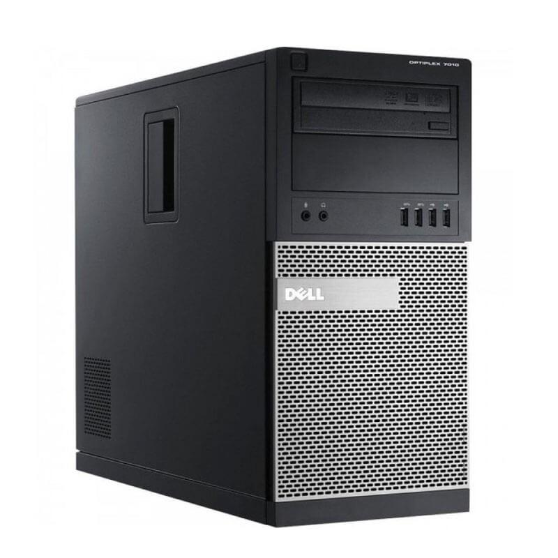 Calculator second hand Dell OptiPlex 7010 MT, Intel Quad Core i5-3470, 120GB SSD