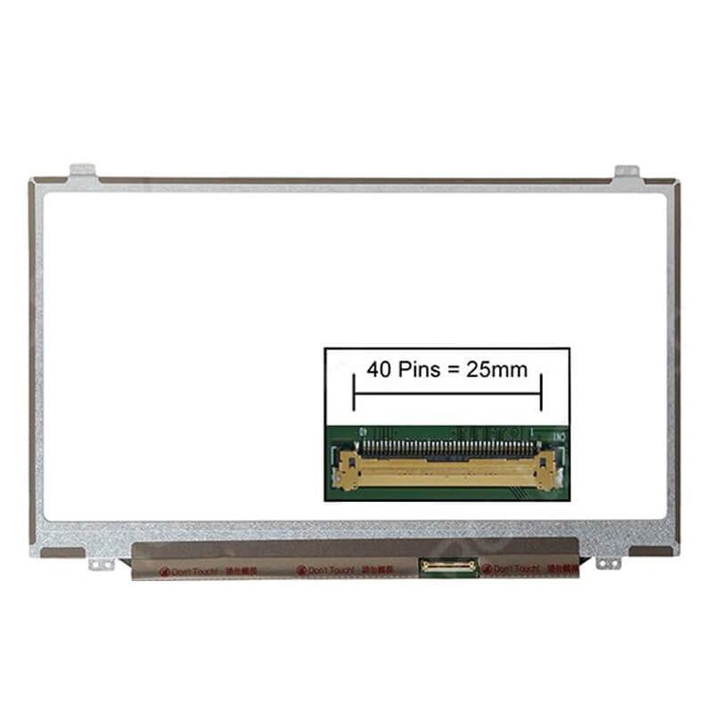 Display Laptopuri second hand 14 inci HD+ 1600x900p Anti-Glare LED-backlit, Grad B, N140FGE-L32