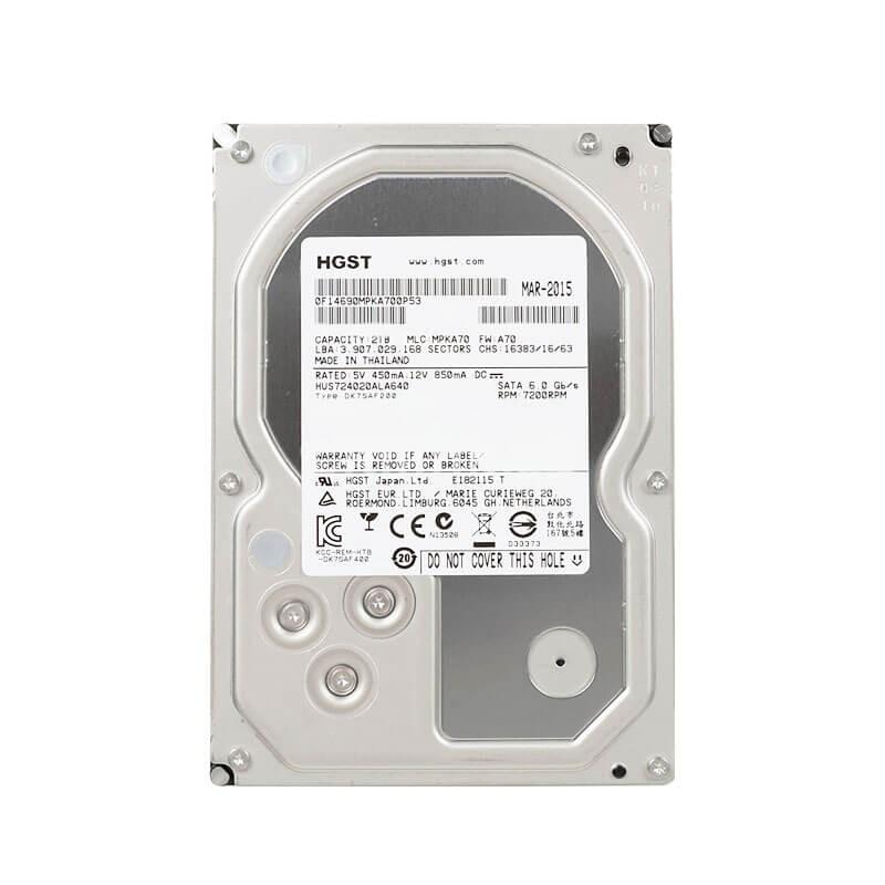 HDD HGST HUS724020ALA640, 2TB SATA3 6GB/S, 3.5 inci, 7.2K RPM, 64MB Cache