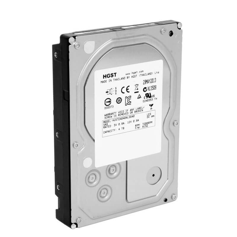 HDD Refurbished HGST HUS724040ALS640 4TB SAS 6Gbps 3.5 inch, 64 Mb Cache