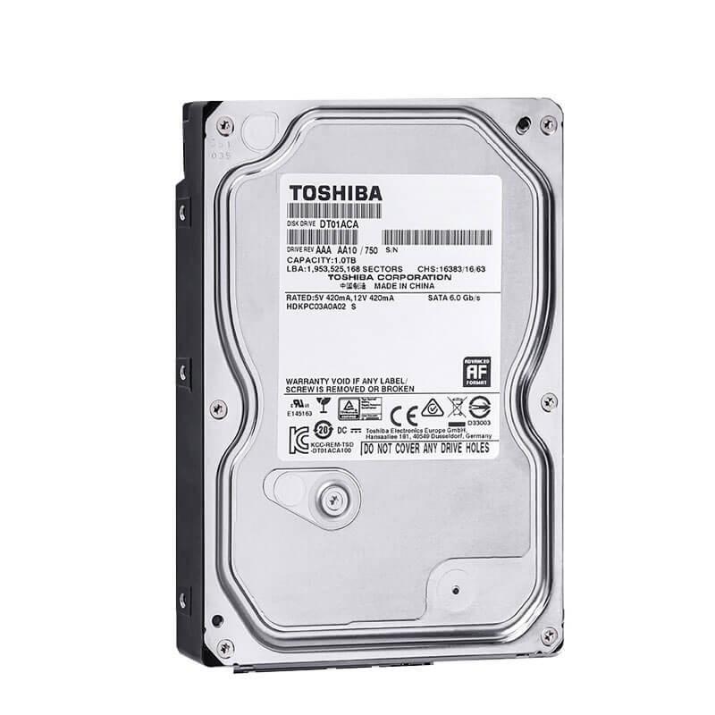 HDD Toshiba DT01ACA100, 1TB SATA3 6GB/s, 3.5 inci, 7.2K RPM, 32MB Cache