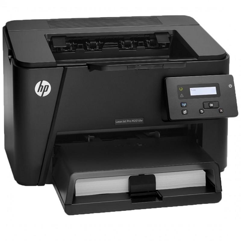 Imprimanta Refurbished HP Laserjet Pro M201dw, Wireless, Toner Full