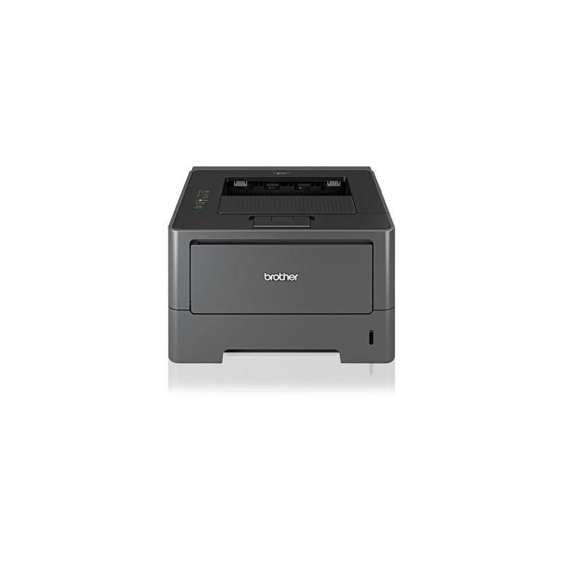 Imprimanta Refurbished Laser Monocrom Brother HL-5450DN, Duplex, Toner Full