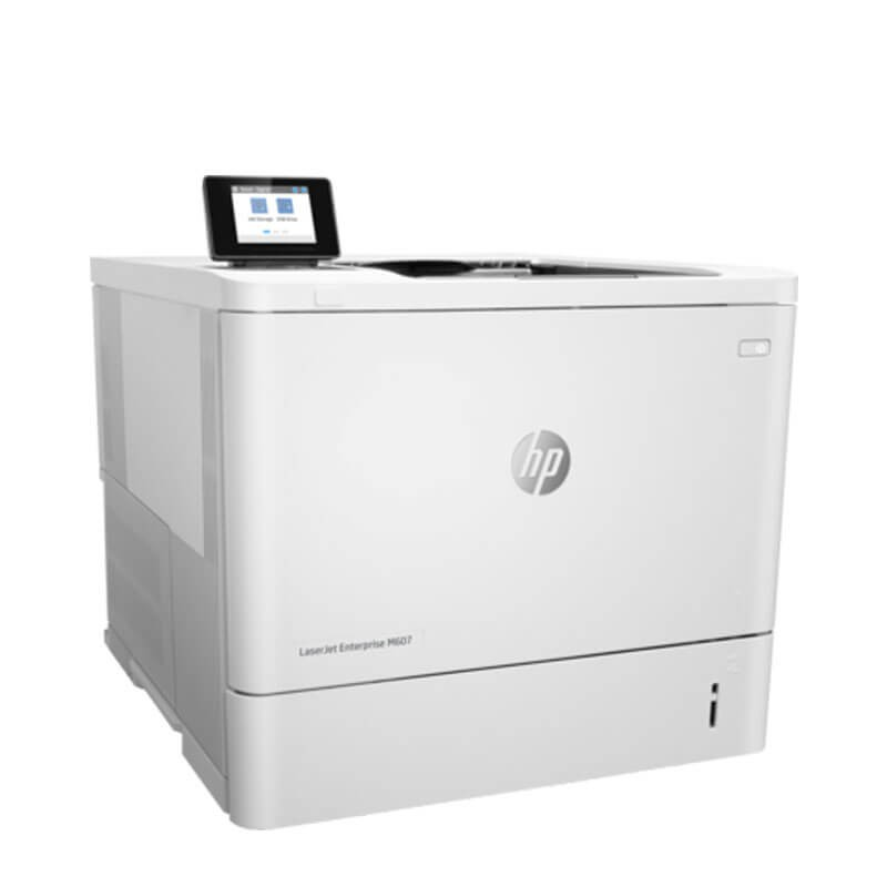 Imprimanta Refurbished Monocrom HP LaserJet Enterprise M607dn