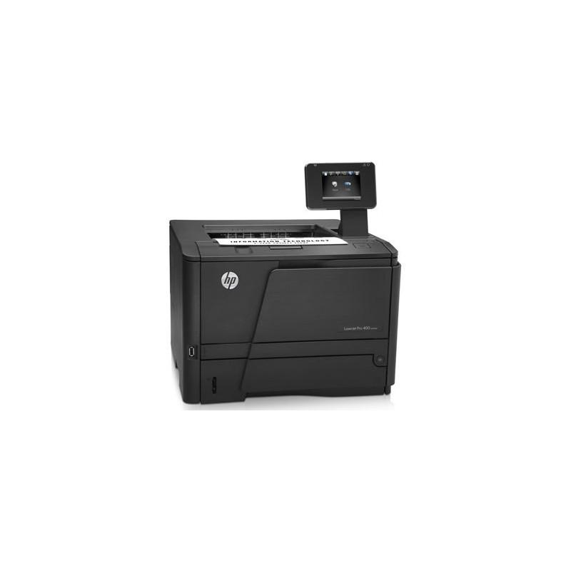 Imprimanta SH HP LaserJet Pro 400 M401DN, Toner full