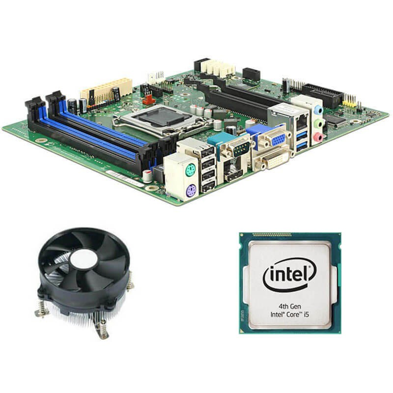 Kit Placi de baza Refurbished Fujitsu D3221-B, Intel Quad Core i5-4570, Cooler