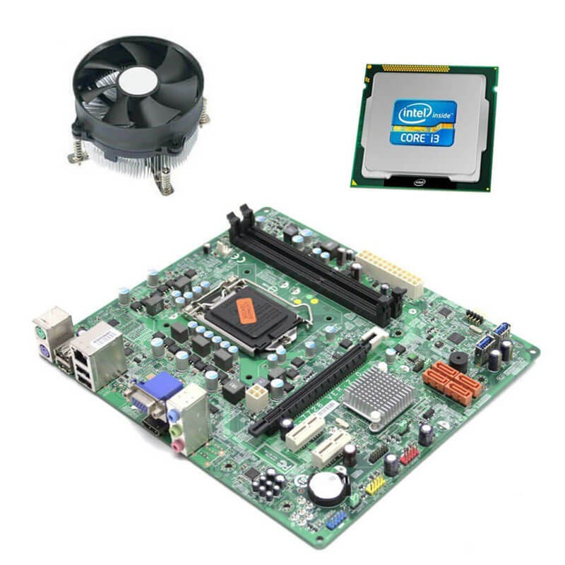 Kit Placi de baza Refurbished Medion MS-7728, Intel Core i3-2130, Cooler