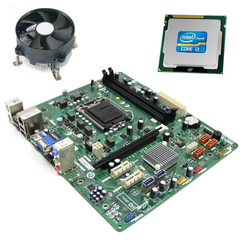 Kit Placi de baza Refurbished Medion MS-7797, Intel Core i3-3220, Cooler