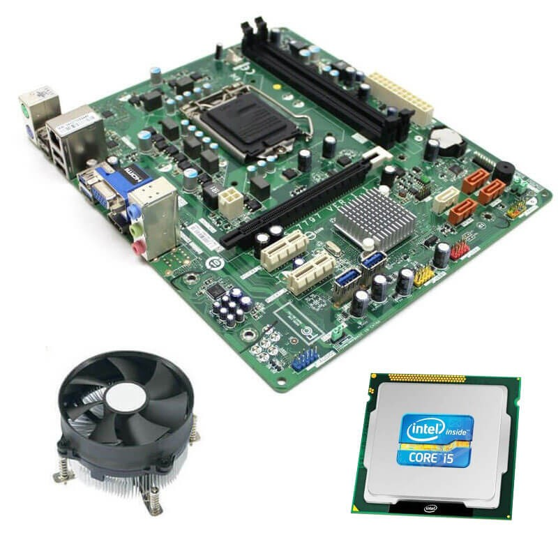 Kit Placi de baza Refurbished Medion MS-7797, Intel Quad Core i5-3470, Cooler