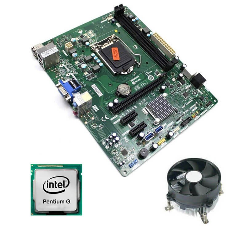 Kit Placi de baza Refurbished Medion MS-7848, Intel Dual Core G3240, Cooler