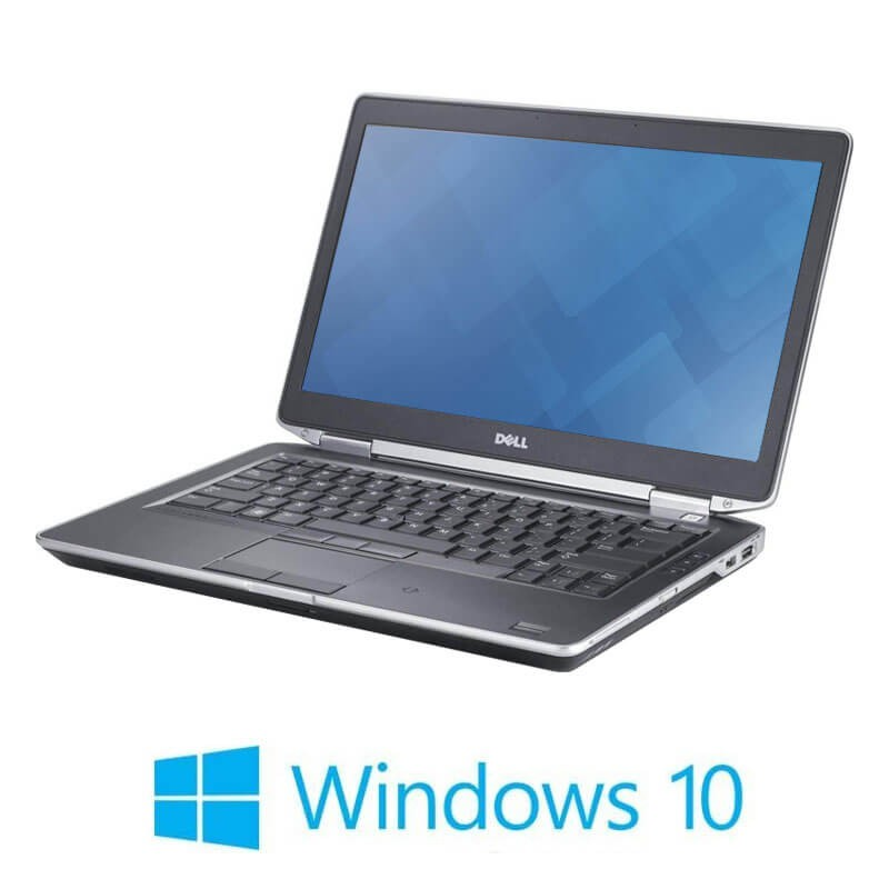 Laptop Dell Latitude E6420, Intel i3-2330M, 120GB SSD NOU, Windows 10 Pro