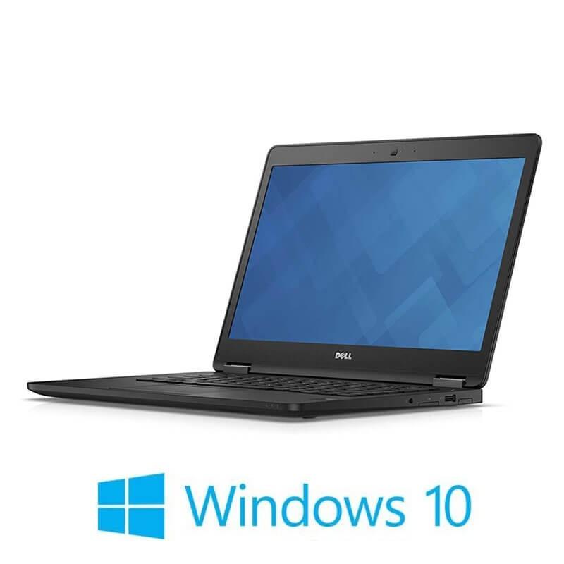 Laptop Dell Latitude E7470, i7-6600U, SSD, FHD, Webcam, Win 10 Home