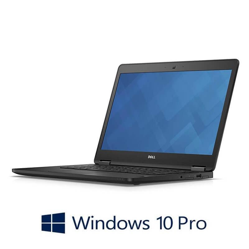 Laptop Dell Latitude E7470, i7-6600U, SSD, FHD, Webcam, Win 10 Pro