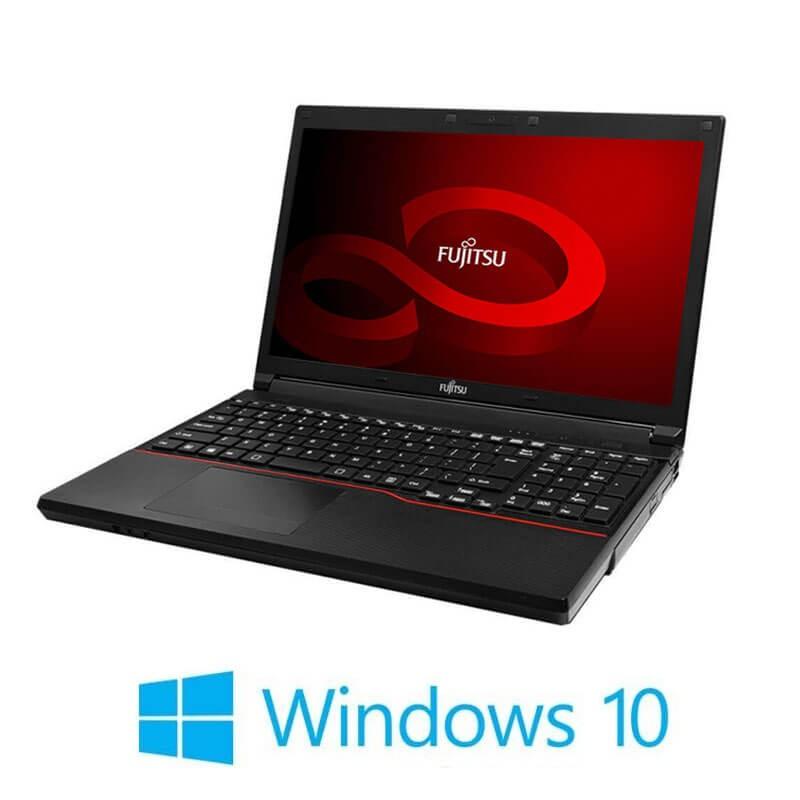 Laptop Fujitsu LIFEBOOK A553/G, Dual Core B830, 15.6 inci, Webcam, Win 10 Home