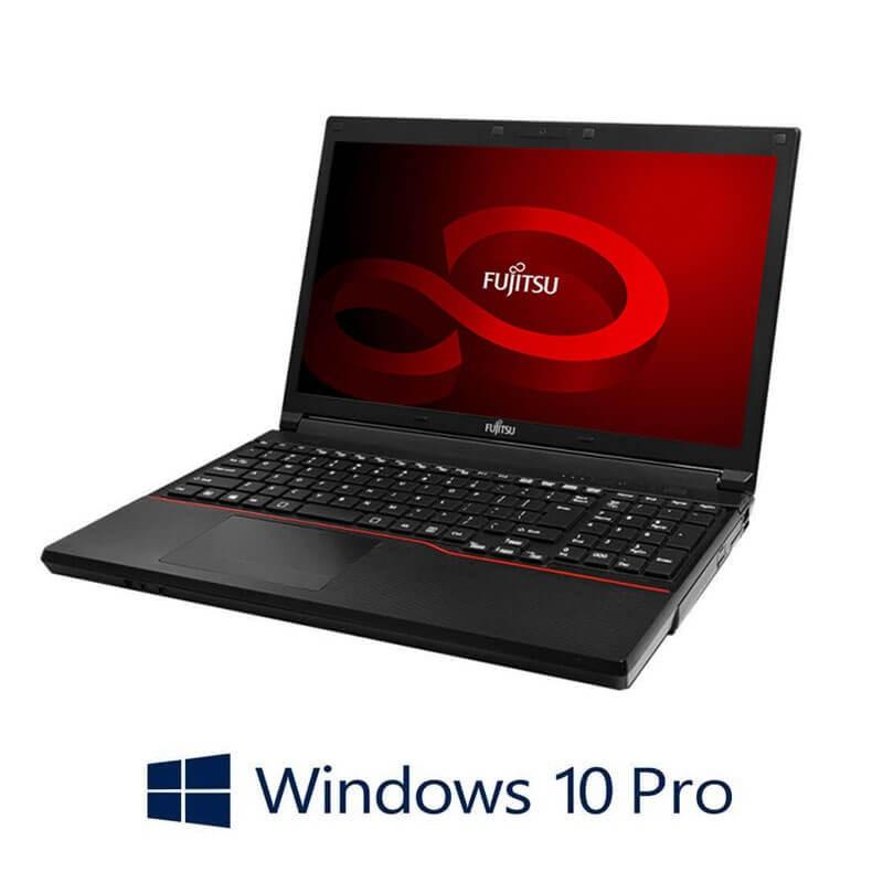Laptop Fujitsu LIFEBOOK A553/G, Dual Core B830, 15.6 inci, Webcam, Win 10 Pro