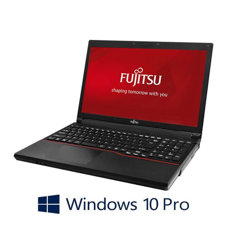 Laptop Fujitsu LIFEBOOK A574/K, i3-4000M, 120GB SSD NOU, Webcam, Win 10 Pro