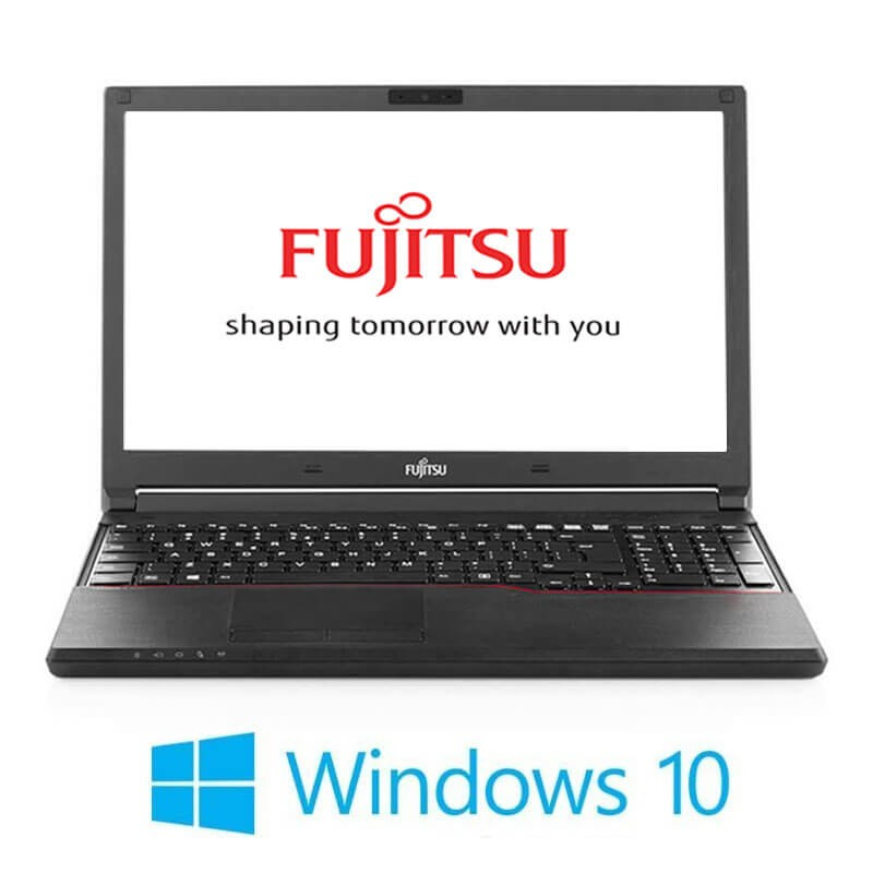 Laptop Fujitsu LIFEBOOK A744/K, i3-4000M, 256GB SSD NOU, Webcam, Win 10 Home