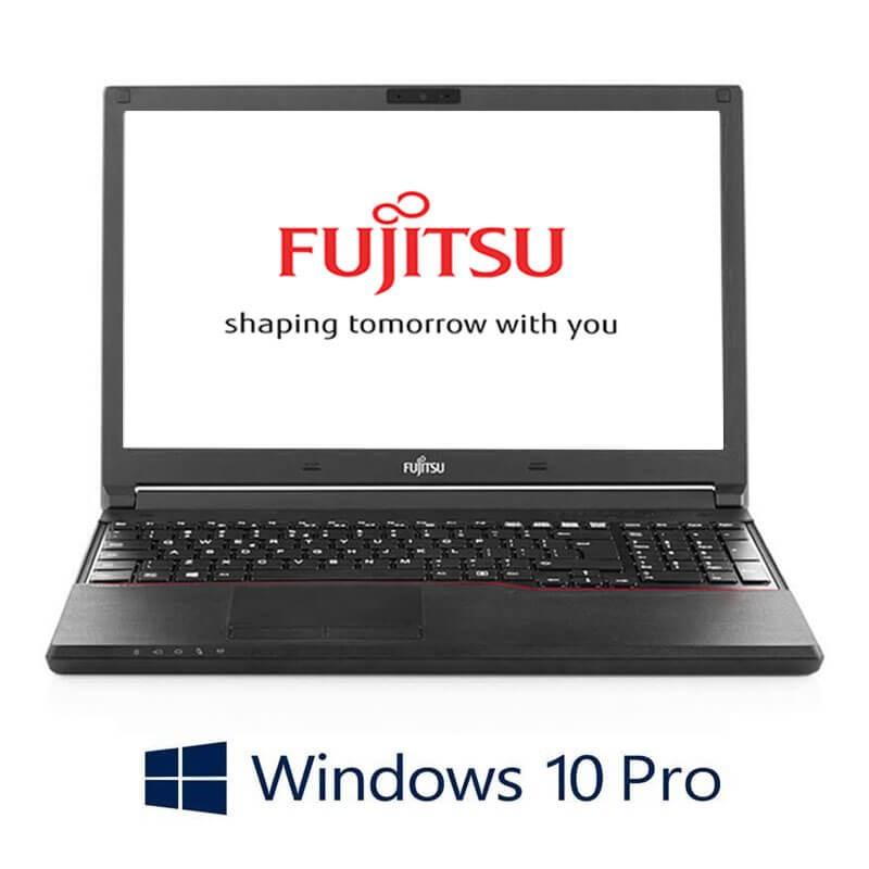 Laptop Fujitsu LIFEBOOK A744/K, Intel i3-4000M, 15.6 inci, Webcam, Win 10 Pro