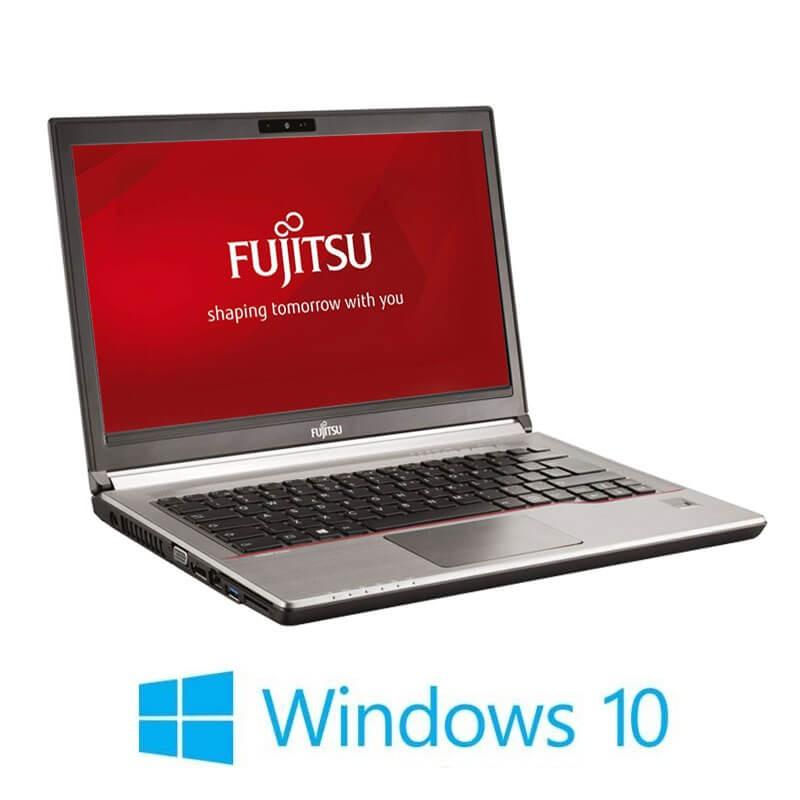 Laptop Fujitsu LIFEBOOK E746, i5-6300U, 256GB SSD, Full HD, Webcam, Win 10 Home