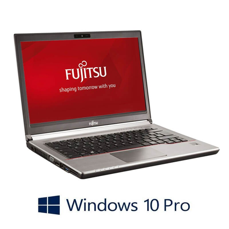 Laptop Fujitsu LIFEBOOK E746, i5-6300U, 256GB SSD, Full HD, Webcam, Win 10 Pro