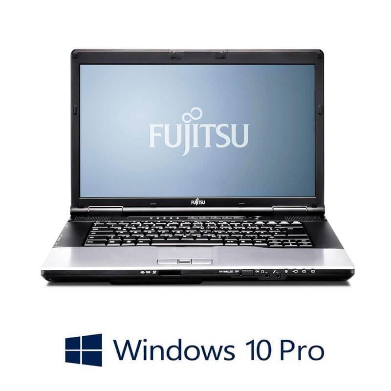 Laptop Fujitsu LIFEBOOK E752, Intel i3-3110M, 15.6 inci, Webcam, Win 10 Pro