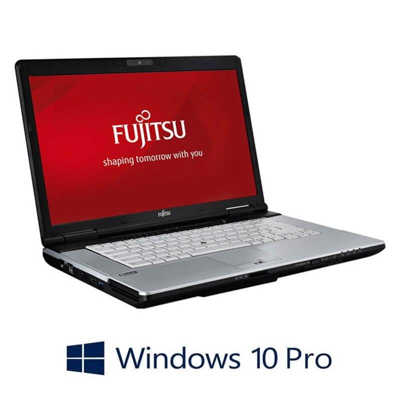 Laptop Fujitsu LIFEBOOK S751, i3-2350M, 120GB SSD NOU, Webcam, Win 10 Pro