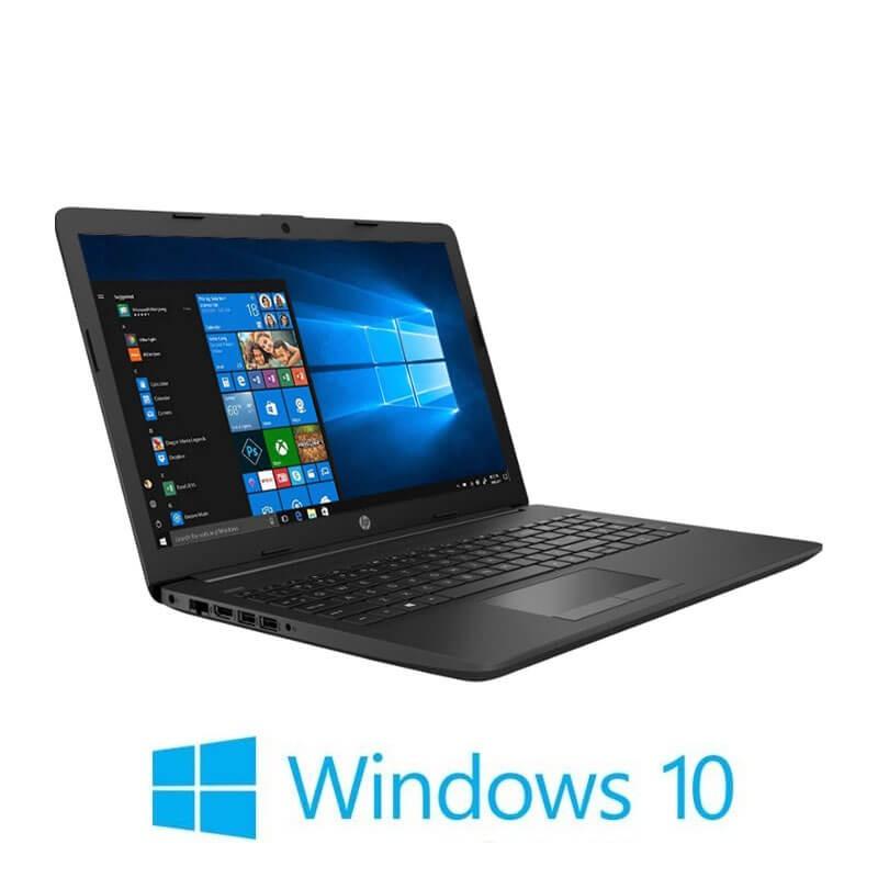 Laptop HP 255 G7, AMD Ryzen 3 2200U, 8GB DDR4, 15.6 inci, Webcam, Win 10 Home