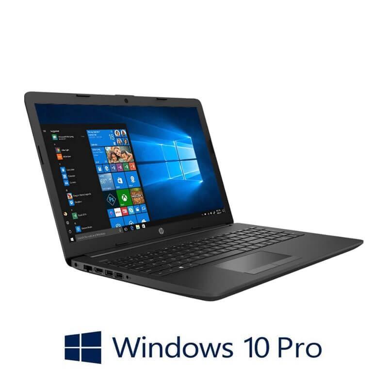 Laptop HP 255 G7, AMD Ryzen 3 2200U, 8GB DDR4, 15.6 inci, Webcam, Win 10 Pro