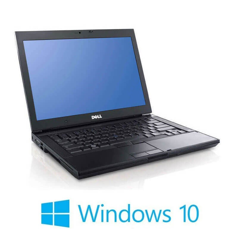 Laptop Refurbished Dell Latitude E6400, Core 2 Duo P8600, 120GB SSD, Win 10 Home