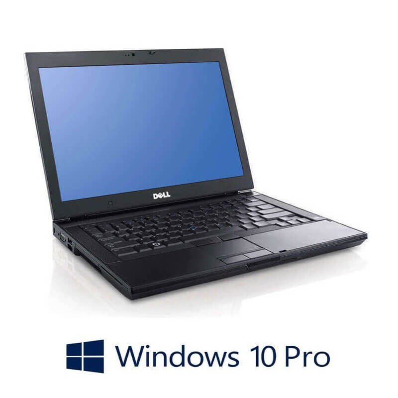 Laptop Refurbished Dell Latitude E6400, Core 2 Duo P8600, 120GB SSD, Win 10 Pro