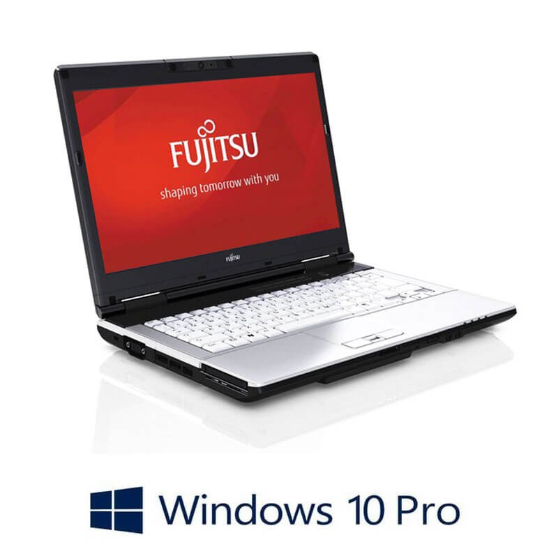 Laptop Refurbished Fujitsu LIFEBOOK S751, Intel i3-2350M, Webcam, Win 10 Pro