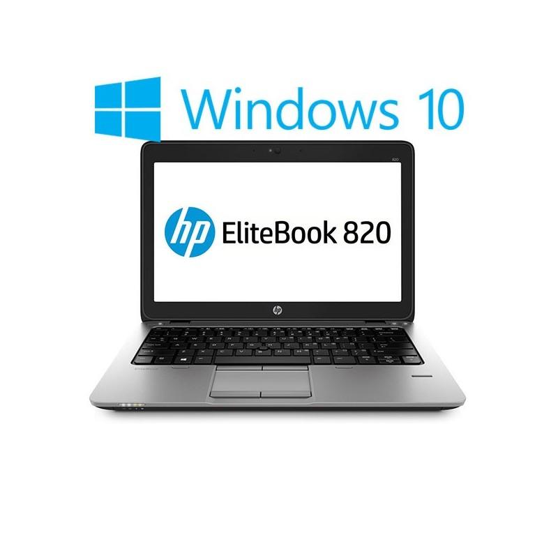 Laptop Refurbished HP EliteBook 820 G2, Core i5-5300U, Win 10 Home
