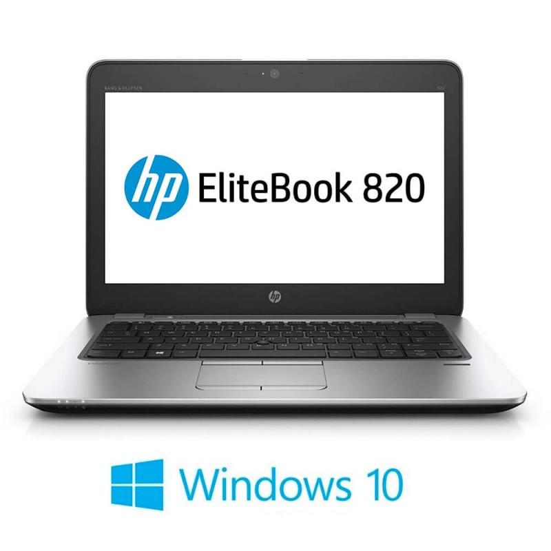 Laptop Refurbished HP EliteBook 820 G3, i5-6300U, Full HD, Windows 10 Home